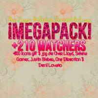 MEGAPACK +220 WATCHERS by Emma-Belieber