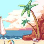 [CMSN] Pixel Art Animation Twitch Screen (1/3)