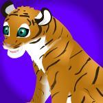 Bengal tiger cub base by PurpleRat-YS