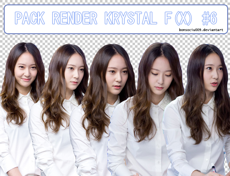 [PACK RENDER] KRYSTAL F(X) #6 by bonsociu009