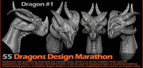 Dragon 1 by damir-g-martin