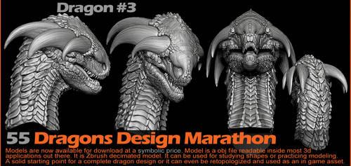 Dragon 3 by damir-g-martin