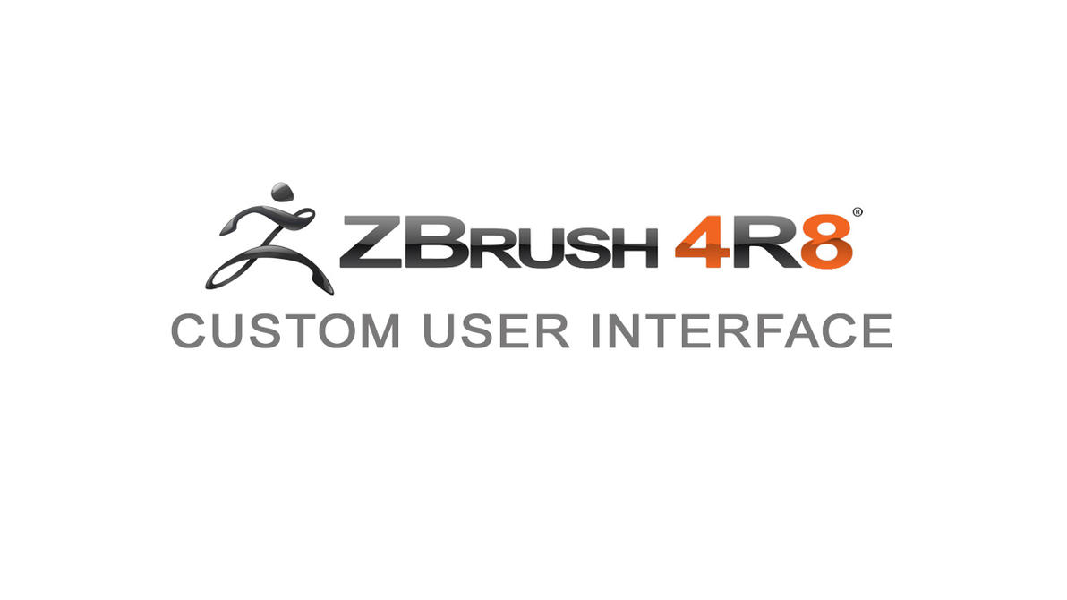 My custom Zbrush user interface by damir-g-martin
