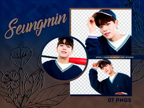 Pack Png #14 - Kim Seungmin (Stray Kids)
