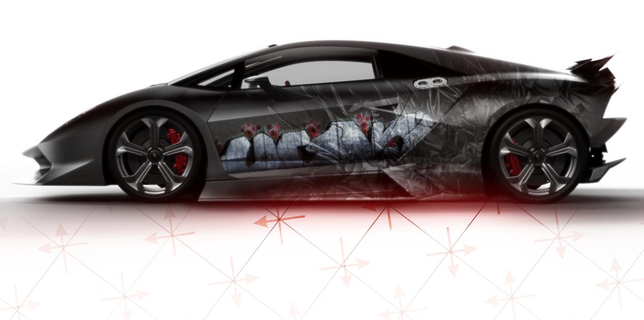 2011 Lamborghini Sesto Elemento Side View By Breezeheart On Deviantart