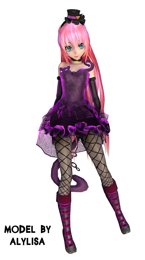 Tda Luka Megurine CatDress + DL by Alylisa