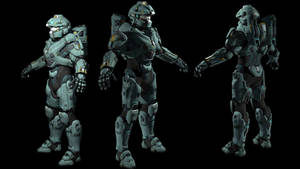 Halo 5 Fred-104 XPS model
