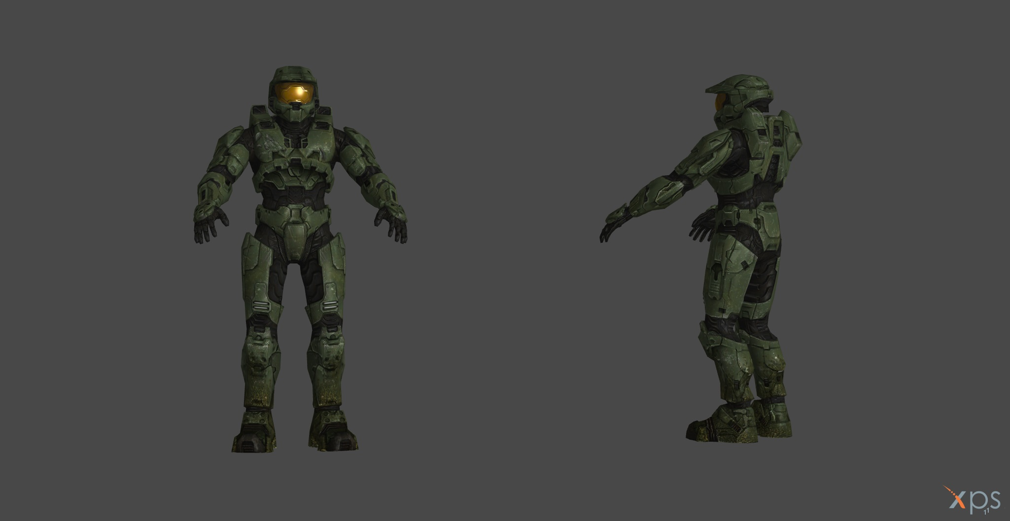 Halo 3 MasterChief XPS model by navie9888ch on DeviantArt