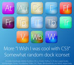 More Wish I was cool CS3 icons