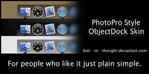 PhotoPro Style ObjectDock