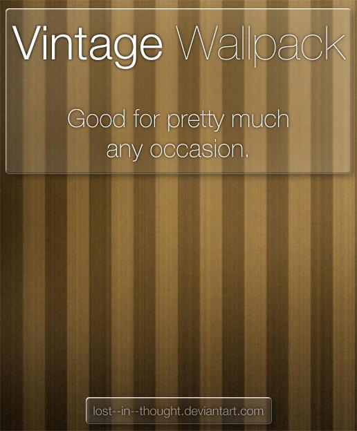 Vintage Wallpack