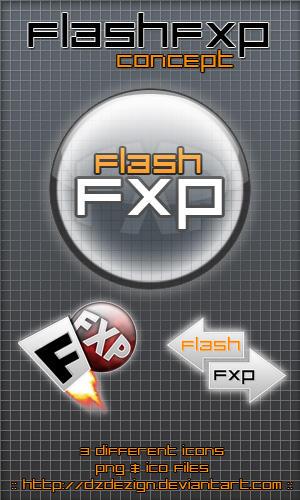 FlashFXP - Concept by dzdezign