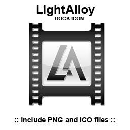 LightAlloy - Dock Icon by dzdezign