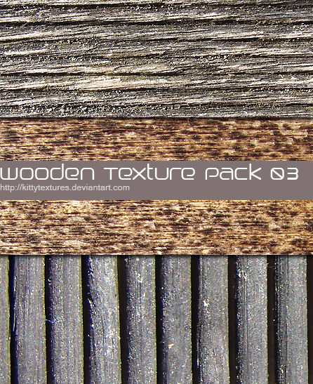 Wooden texture pack 03 by kittytextures