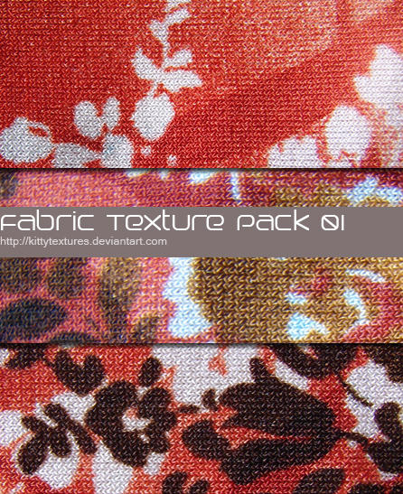 Fabric texture pack 01 by kittytextures