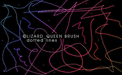 Dotted lines by lizard--queen