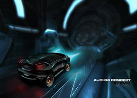 Audi Q6 concept ANIMATED by 6mik-design