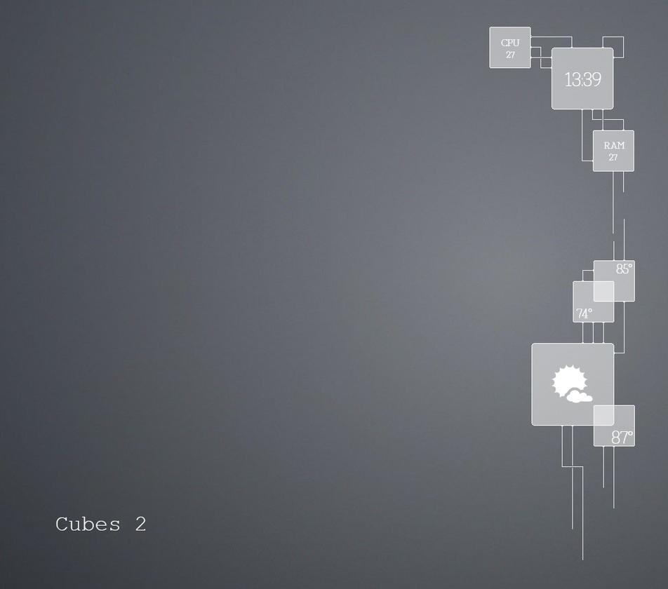 Cubes 2 by Skryyne