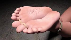 Amy's Feet (animated) by SamuelKhan