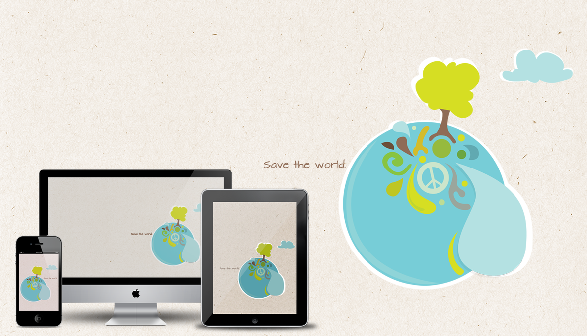 Save the world by dinamicdesign