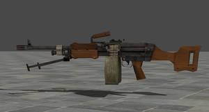 Re6 Light Machine Gun