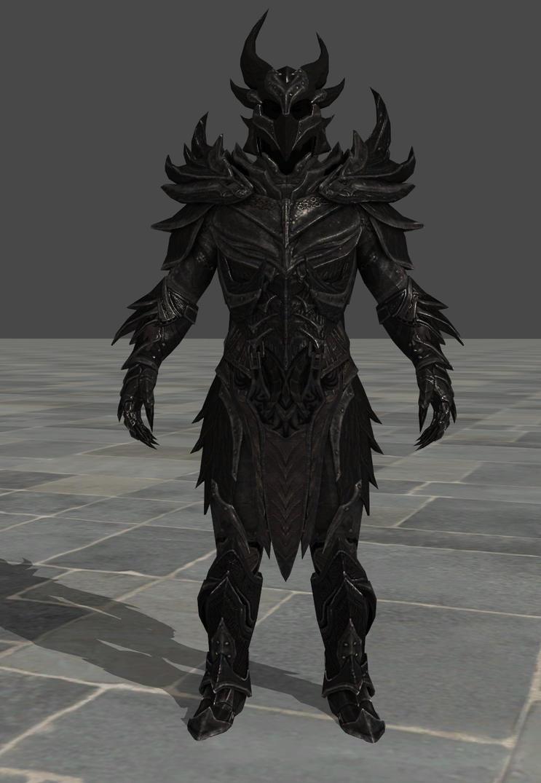 Daedric Armor Daedric Armor by zeushk