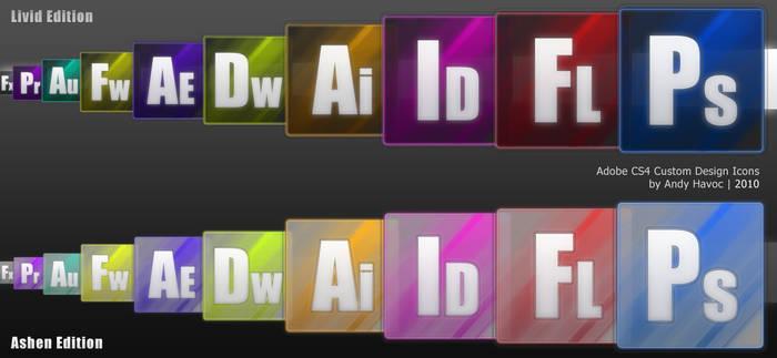 Adobe CS4 Custom Design Icons
