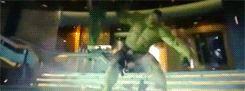 Hulk smashes Loki The Avengers