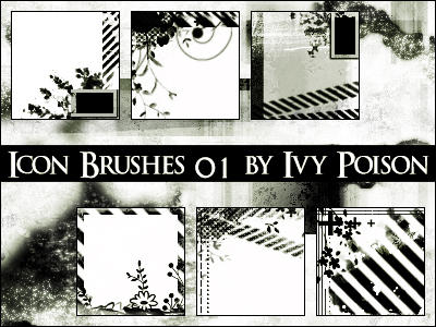 Icon Set Gimp 'Ivy-Poison' by GnesaStock