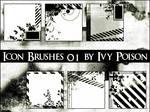 Icon Set Gimp 'Ivy-Poison'