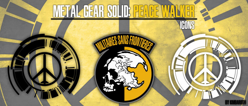 Mgs Peace Walker Icons By Kimba On Deviantart