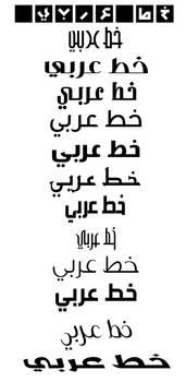 arabic font 4 mac or pc