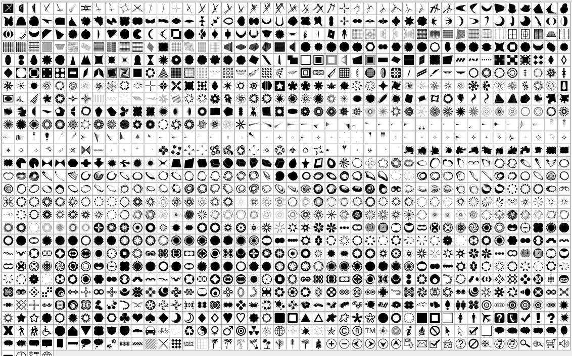 More Custom Shapes More__custom_shapes_by_naderbellal