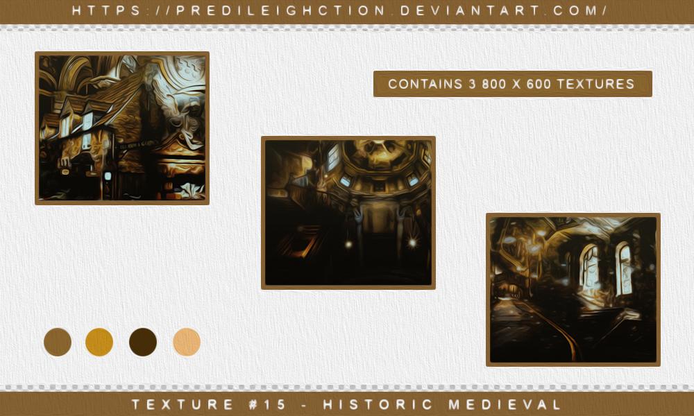 Texture Pack 15 Historic Medieval By Predileighction On Deviantart