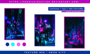 Texture Pack 29 - Neon City
