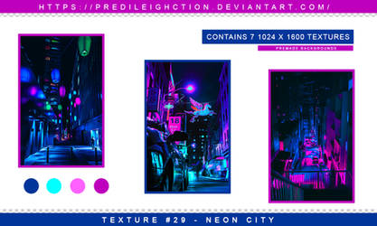 Texture Pack 29 - Neon City