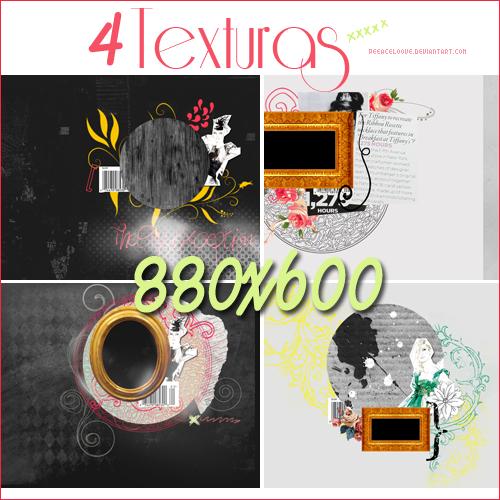 4 texturas Retro_880x600 by PeeaceLoove