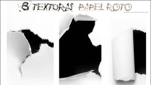 Pack8Texturas_Papel roto