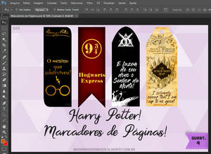 Bookmarks Harry Potter!