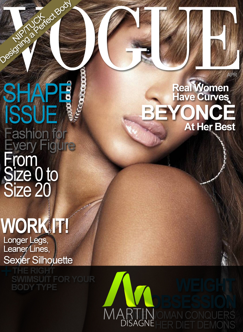 Vouge Magazine Cover Psd By Martindisagne On Deviantart