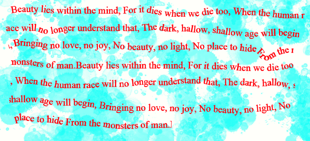 Where beauty lies by vampyremisa