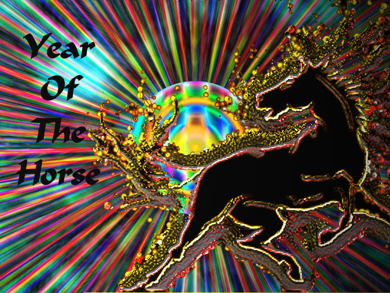 Year Of The Horse by firehorse