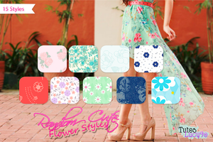 Random Flower Styles by Lucy9o