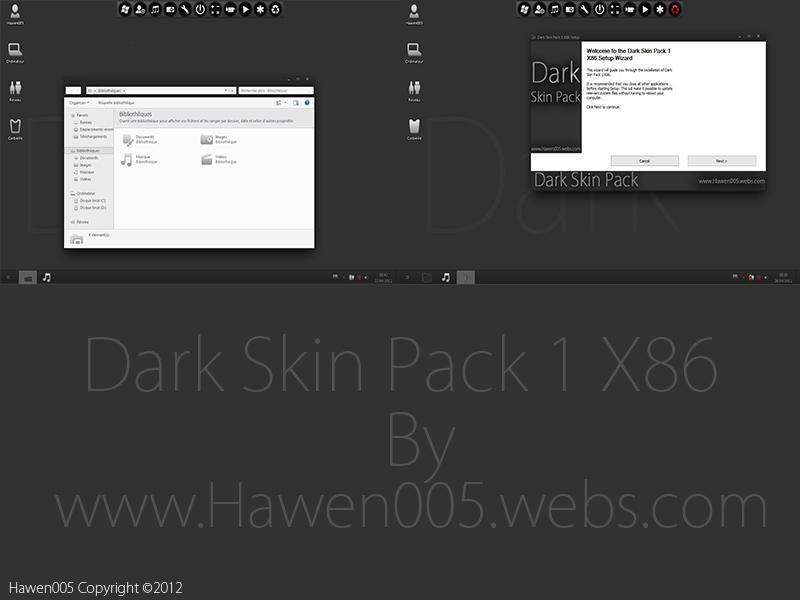 Darkin SkinPack for Win7