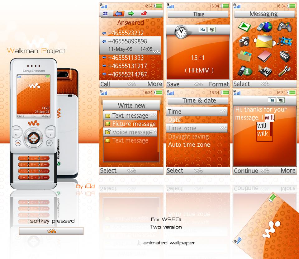 Walkman project - Orange by i0d