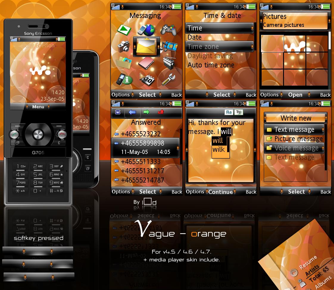 Vague - Orange