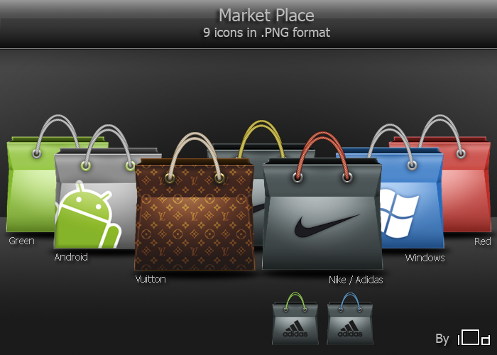 Market Place icons