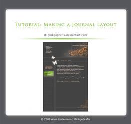 .:Making a journal layout by GinkgoWerkstatt