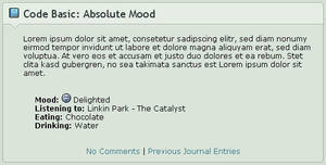 Code Basics: Absolute Mood