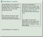 Code Basics: Columns